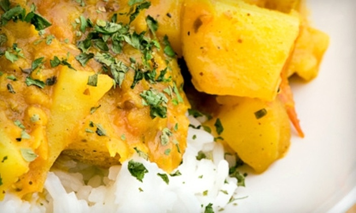 Nawab Indian Cuisine - Downtown: $10 for $20 Worth of Indian Fare at Nawab Indian Cuisine