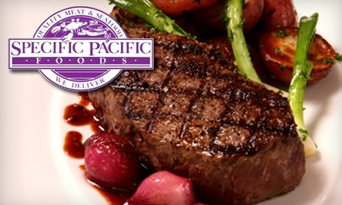 Specific Pacific Foods - Torrance: $50 for $100 Worth of Gourmet Frozen Foods from Specific Pacific Foods Delivered to LA County