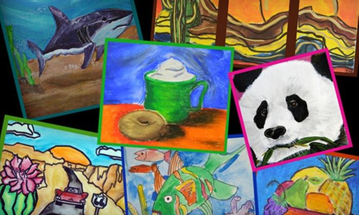 Blackbird Music & Art Center - Chandler Heights Citrus: $24 for a Four-Week Art-Class Series for Children at Blackbird Music & Art Center in Queen Creek ($48 Value)