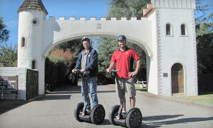 Adventures Out West - Downtown Solvang: $42 for a 90-Minute Solvang Segway City Tour from Adventures Out West ($85 Value)