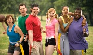 Shoreline Social Sports & Events: Co-Ed Kickball, Dodgeball, or Flag Football League at Shoreline Social Sports & Events (Up to 50% Off)