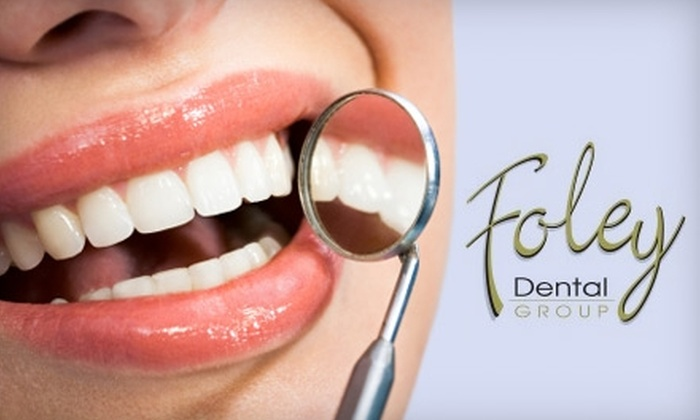 Foley Dental Group - St Louis: $59 for Dental Exam, X-rays, and Take-Home Whitening System at Foley Dental Group in Maryville ($525 Value)