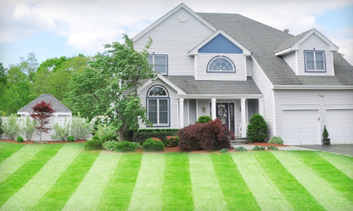 The EarthScape Company - Charlotte: $99 for Lawn Aeration and Fertilization Treatment from The EarthScape Company ($259 Value)