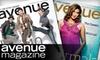 "<i>Avenue Magazine</i>: $12 for a One-Year Subscription to ""Avenue Magazine"" Calgary ($26.24 Value)"