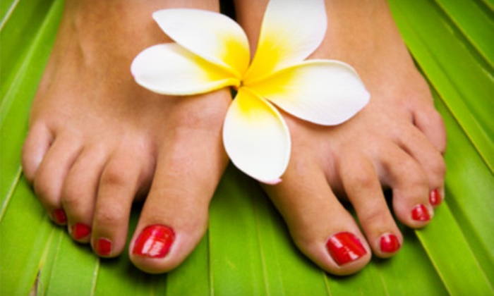 TeddyRose Hair Salon and Day Spa - Skokie: Mani-Pedi Package or Two No-Chip Manicures at TeddyRose Hair Salon and Day Spa in Skokie (Up to 67% Off)