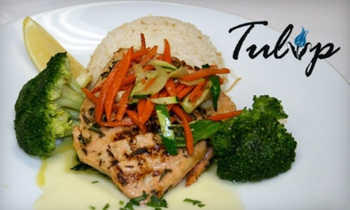 Tulip - Historic Third Ward: $20 for $40 Worth of Turkish Cuisine at Tulip