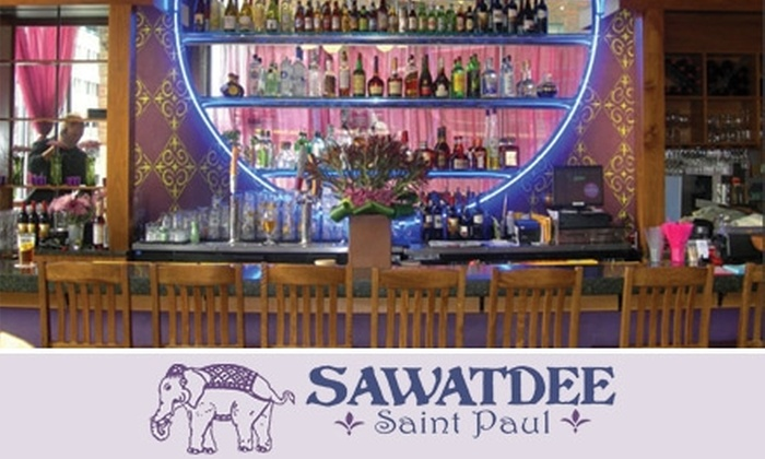 Sawatdee St. Paul - Northwestern Precinct: $10 for $20 Worth of Authentic Thai Cuisine and Drinks at Sawatdee St. Paul
