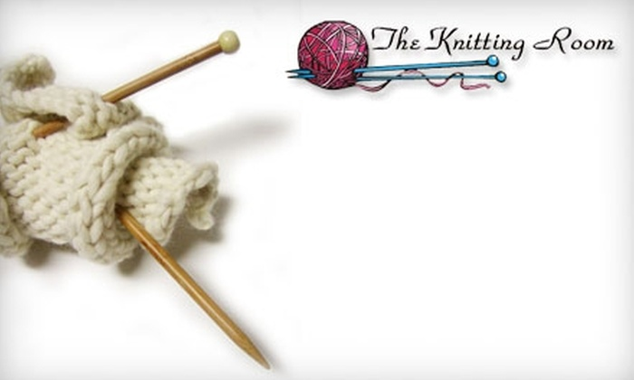 The Knitting Room - Cambrian: $10 for $20 Worth of Knitting Supplies at The Knitting Room