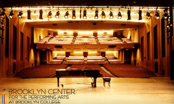 Brooklyn Center for Performing Arts at Brooklyn College - Flatbush - Ditmas Park: $18 for One Ticket to Any of Seven Shows at Brooklyn Center for the Performing Arts at Brooklyn College (Up to $48 Value)