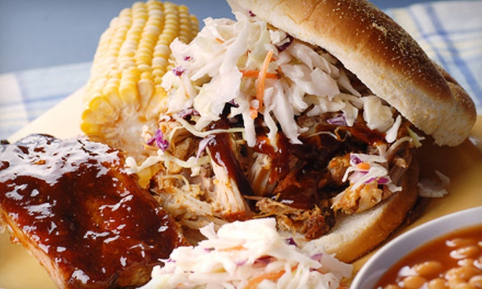 Real BarBQ - Multiple Locations: Barbecue Fare from Real BarBQ. Three Options Available.