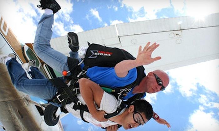 Westside Skydivers - Winsted: $129 for a Tandem Skydive Jump from Westside Skydivers in Winsted (Up to $230 Value)