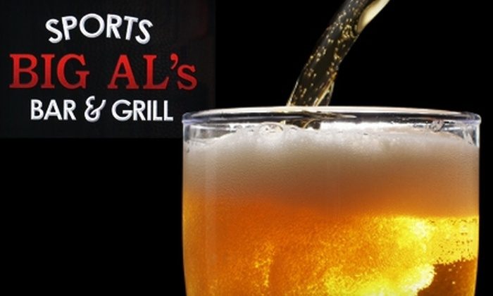 Big Al's Sports Bar and Grill - Three Chopt: $10 for $20 Worth of Pub Fare and Drinks at Big Al's Sports Bar and Grill