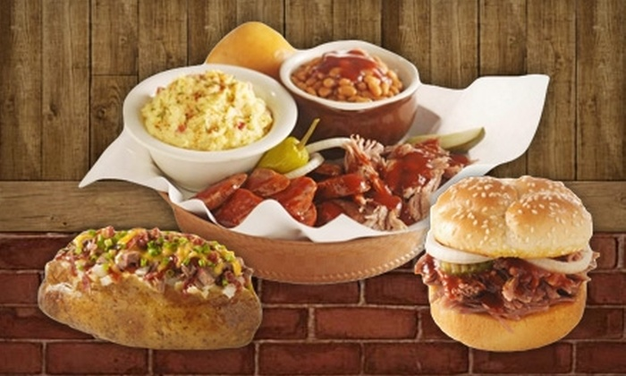 Dickey's Barbecue Pit - Schererville: $5 for $10 Worth of Smokehouse Fare and Drinks at Dickey's Barbecue Pit in Schererville