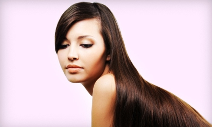 Estella A Salon - South Salt Creek: $25 for $50 Worth of Coloring Services or $99 for Brazilian Blowout ($250 Value) at Estella A Salon