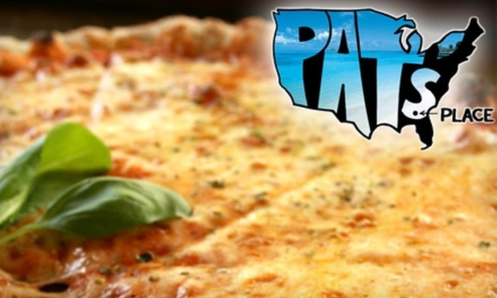 Pat's Place in Americus - Americus: $6 for One Large Pizza with One Topping at Pat's Place in Americus
