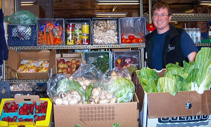 West Seattle Food Bank - High Point: If 40 People Donate $10, Then West Seattle Food Bank Can Give 40 Low-Income Families Five Farmers-Market Food Vouchers