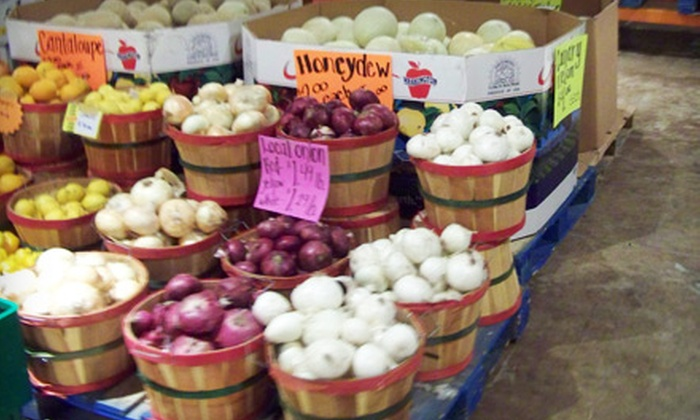 Allen's Organics Farmers Market - Arroyo Chico: $5 for $10 Worth of Fresh, Organic Produce at Allen's Organics