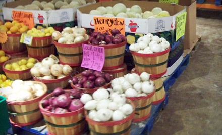 $10 Groupon to Allen's Organics - Allen's Organics Farmers Market in Tucson