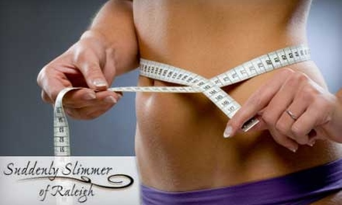Suddenly Slimmer of Raleigh - North Raleigh: Three Velashape Treatments or One Ion Cleanse Detox Treatment at Suddenly Slimmer of Raleigh (Up to $425 Value). Choose from Two Options.