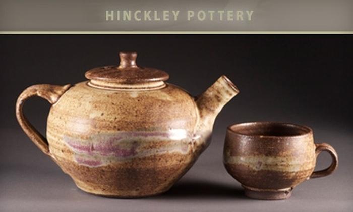 Hinckley Pottery - Adams Morgan: $25 for $50 Worth of Hand-Crafted Pottery at Hinckley Pottery