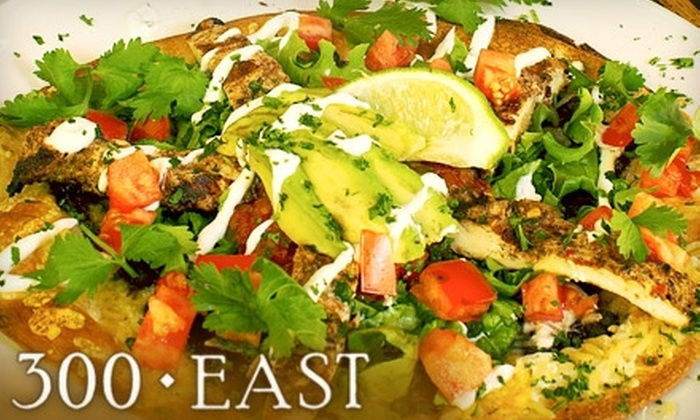 300 East - Dilworth: $25 for $50 Worth of American Cuisine at 300 East