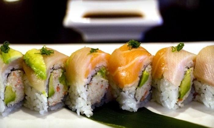 Tokyo Japanese Steakhouse and Sushi Bar - Lehi: $10 for $22 Worth of Japanese Fare at Tokyo Japanese Steakhouse and Sushi Bar in Lehi