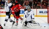 New Jersey Devils - Newark Central Business District: $29 for One 100-Level Ticket to a New Jersey Devils Game ($58 Value). Three Games Available.