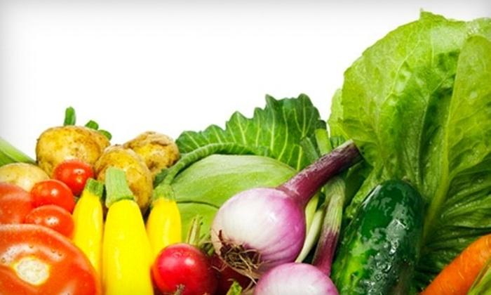 Front Door Organics - Trinity - Niagara: $42 for Two Custom Boxes of Organic Produce from Front Door Organics ($84 Value)