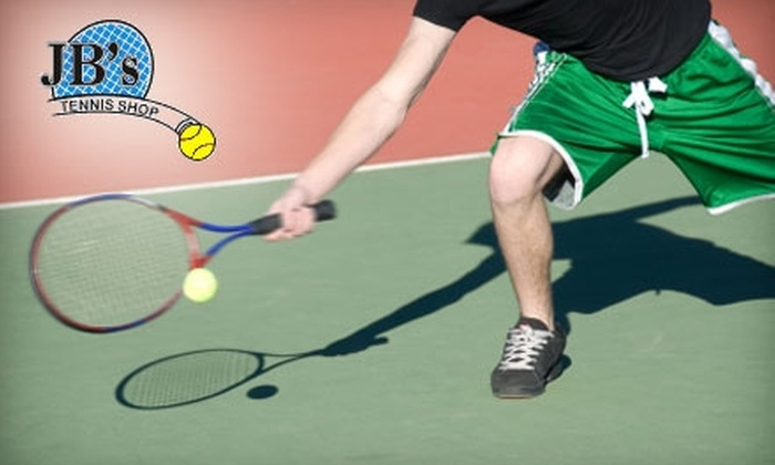 JB's Tennis Shop - Williamsville: $15 for $30 Worth of Goods and Services  at JB's