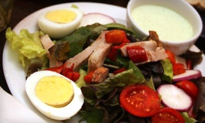 Farmer's Daughter Bakery and Cafe - Princeton: $5 for Two Lunch Soup-and-Salad Combos at Farmer's Daughter Bakery and Cafe in Princeton ($12 Value)