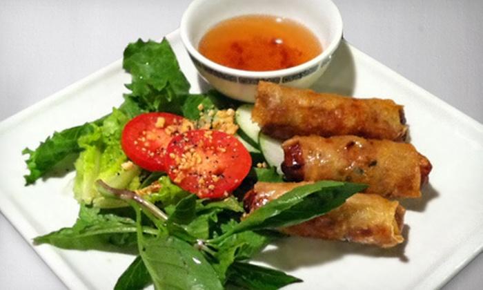 Jasmine Asian Cuisine - Southwest,Southwest Denver,University Hills: $10 for $20 Worth of Asian Dinner Fare with Vegetable Egg Rolls at Jasmine Asian Cuisine in Englewood ($24.25 Value)