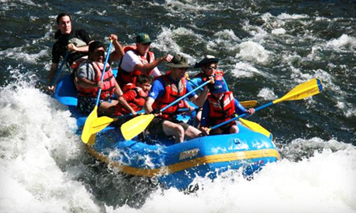 Pirate Rafting Company - Coloma: $70 for Day of Guided White-Water Rafting from Pirate Rafting Company in Lotus (Up to $140 Value)