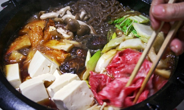 Kingswood Fusion Pots - Kingswood Fusion Pots: $26 for a Shabu-Shabu Meal for Two with Appetizer and Drinks at Kingswood Fusion Pots in Chino (Up to $52.96 Value)