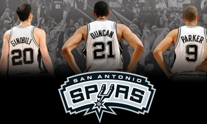 San Antonio Spurs - San Antonio: $60 for 100-Level Ticket to San Antonio Spurs Game (Up to $125 Value). Choose from Three Options.