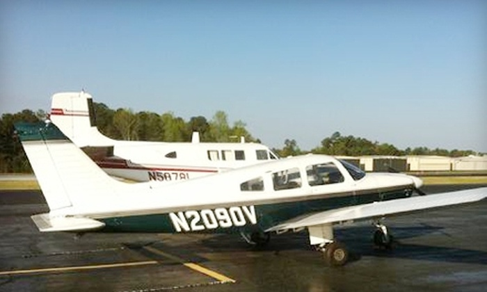 FlyBoys Flight Centers - Griffin: $80 for a Scenic Airplane Ride ($170 Value) or $89 for an Intro Flight Lesson ($159 Value) at FlyBoys Flight Centers in Griffin
