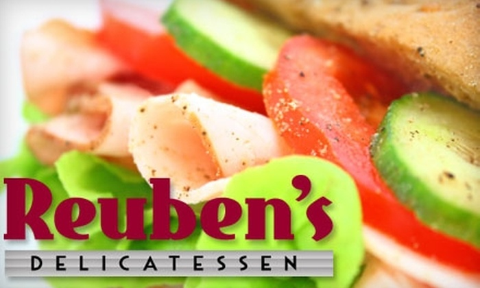 Reuben's Delicatessen - West Hartford: $9 for $18 Worth of Sandwiches and More at Reuben's Delicatessen