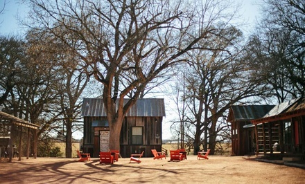 1- or 2-Night Stay for Up to Four in an Alley Suite or Camp Cabin at Camp Comfort in Comfort, TX