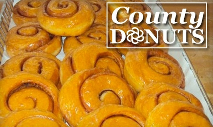 County Donuts - Schaumburg: $5 for $10 Worth of Donuts, Sweets and Drinks at County Donuts