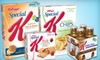 Incentive Targeting: $10 for Kellogg's Special K Products at Big Y ($22.19 Value)