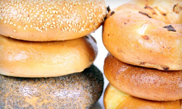 Bagel Express - Sugar Land: $10 for $20 Worth of Breakfast and Lunch Fare at Bagel Express in Sugar Land
