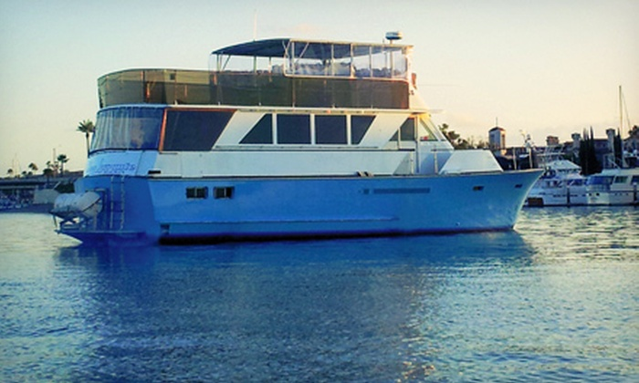 Newport Fun Tours - Newport Beach: Weekend Sunset Cruise for One or Two from Newport Fun Tours (Up to 65% Off)