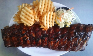 Off The Grill: Barbecue Dinner for Two or Four or More at Off The Grill (Up to 47% Off)