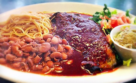 Mexican Cuisine at Auténtica Mexican Restaurant (Half Off). Two Options Available.