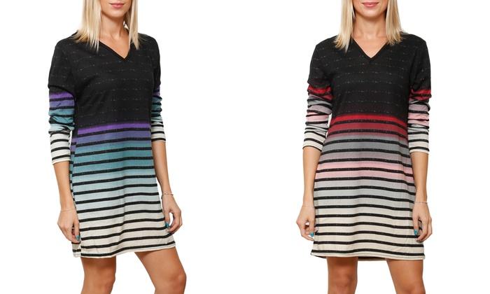 957c500aee Women s Ombre Sweater Dress