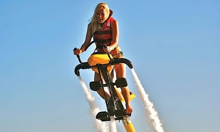 Aquaflyboarding USA - California - Aquaflyboarding USA - California: 30-Minute Jetovator Experience, Flyboard Flight, or Both for One or Two at Aquaflyboarding USA (Up to 62% Off)