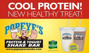 Popeye's Supplements: Two or Four Smoothies at Popeye's Supplements (50% Off)