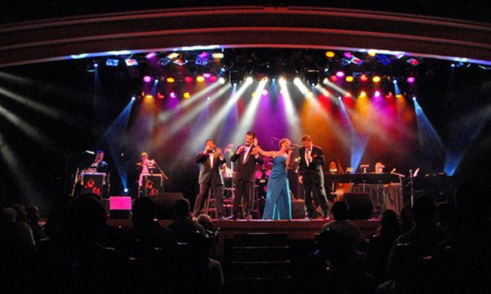 """Shades of Sinatra"" - Las Vegas: ""Shades of Sinatra"" Tribute with VIP Seating for One or Four at Wolf Theater in Clarion Hotel & Casino (Up to 59% Off)"