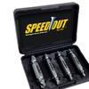 SpeedOut Pro Damaged Screw Extractor (4-Piece)