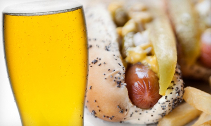 Ritz Koney Bar and Grille - Heartside-Downtown: $8 for $16 Worth of Sandwiches, Hot Dogs, Burgers, and Drinks at Ritz Koney Bar and Grille