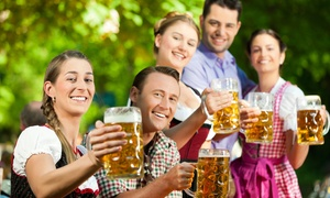 German American Friendship Society of Pinellas: Oktoberfest Weekend Pass for One or Two from German American Friendship Society of Pinellas (Up to 55% Off)
